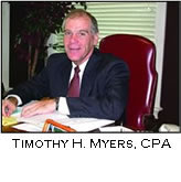 Forensic Accountant Timothy H. Myers, CPA
